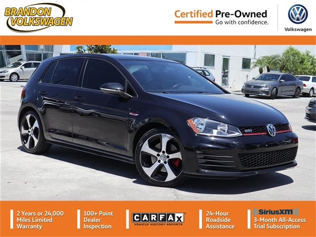 Certified Pre-Owned 2016 Volkswagen Golf GTI SE