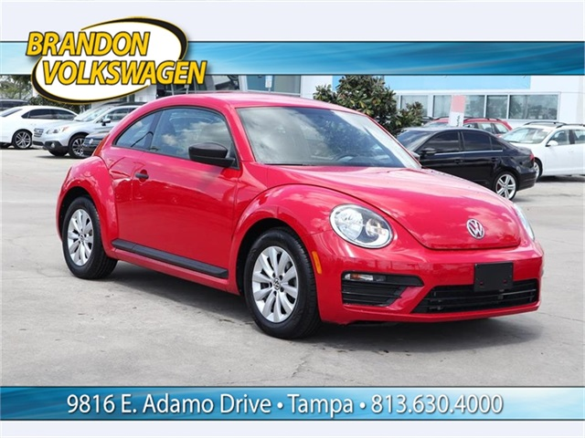 Certified Pre Owned 2017 Volkswagen Beetle 1 8t S