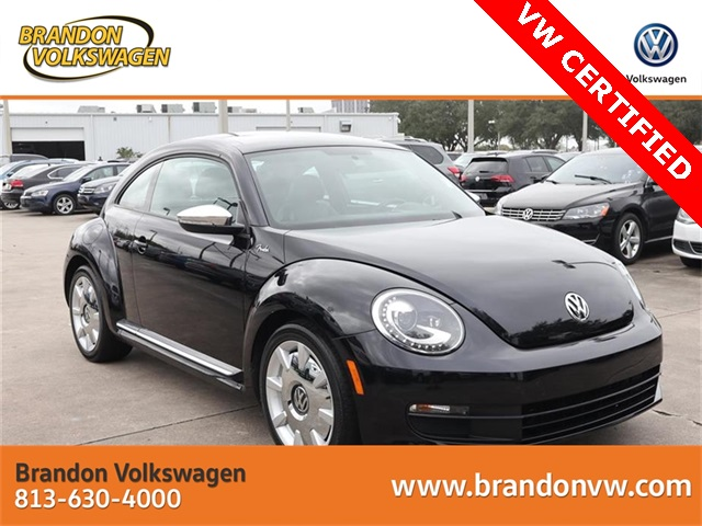 Certified Pre-Owned 2013 Volkswagen Beetle 2.5L Fender Edition