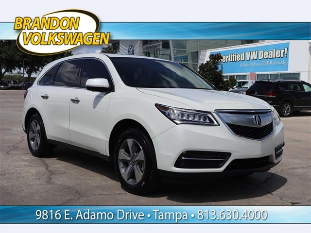 PreOwned Acura MDX L D Sport Utility In Tampa A - Acura mdx pre owned